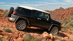 FJ Cruiser off road